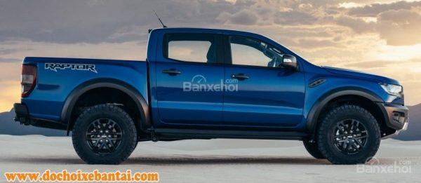 Đánh giá Ford Ranger Raptor 2019 về thiết kế thân xe