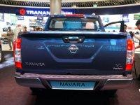 Ảnh chụp đuôi xe Nissan Navara 2017