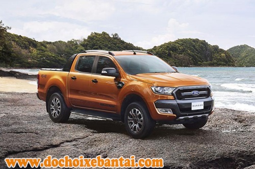 Ford Ranger Wildtrak 2016.