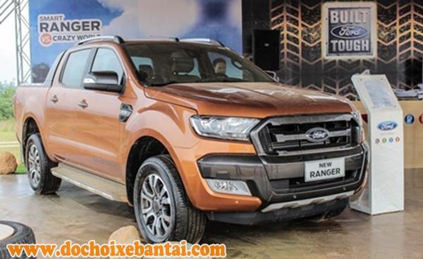 Ford Ranger giá rẻ- Thiết kế ngoại thất năng động trẻ, trung