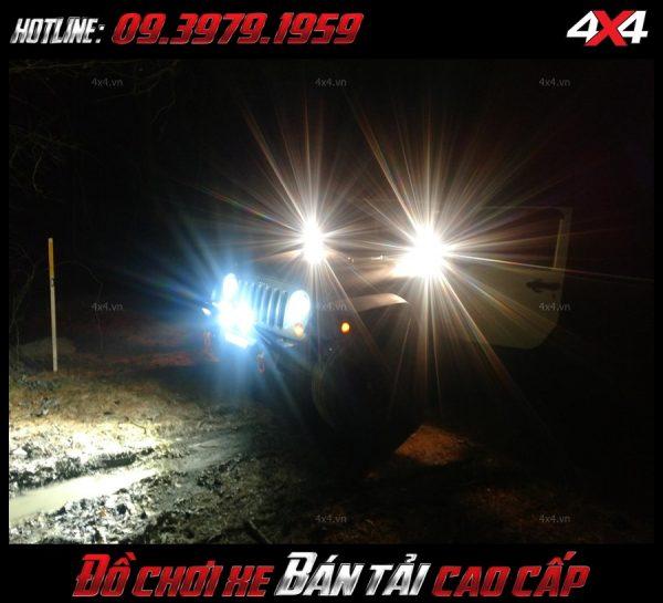 Led bar <strong>độ đèn Ford Ranger</strong>: Đèn led bar độ xe Ford Ranger bền dưới tất cả các điều kiện thời tiết