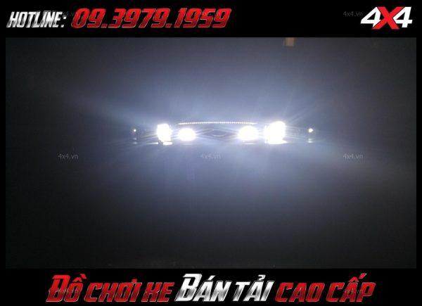 Hình ảnh led bar <strong>độ đèn Ford Ranger</strong>Led bar <strong>độ đèn Ford Ranger</strong>: mẫu đèn led cực kì sáng giúp trợ sáng cho bán tải vào ban đêm