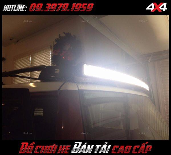 Đèn led bar ô tô: Đèn led bar độ chất và chất cho xe hơi, xe bán tải Ford Ranger ở TpHCM