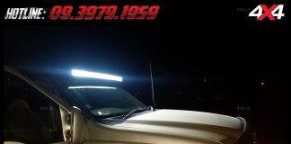 Photo đèn led bar xe bán tải: Đèn led bar Không những giúp soi sáng vào ban đêm mà còn trang trí cho xe thêm mạnh mẽ và đẹp hơn