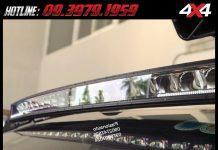 Với cường độ sáng tốt, đèn led bar hỗ trợ khá tốt cho người lái vào ban đêm