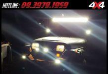 Hình ảnh Đây là mẫu đèn led khá sáng dành cho xe bán tải, xe ô tô