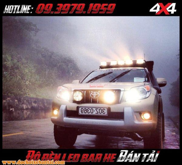 Bức ảnh Đèn led bar chất lượng cao gắn cho xe ô tô xe bán tải tại TpHCM