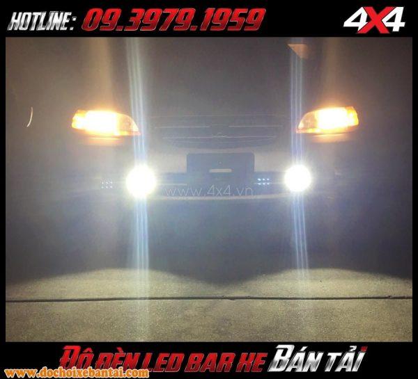 Để độ xe đẹp và đẹp mắt những bạn nên gắn thêm đèn led bar cho xe bốn bánh xe bán tải của mình