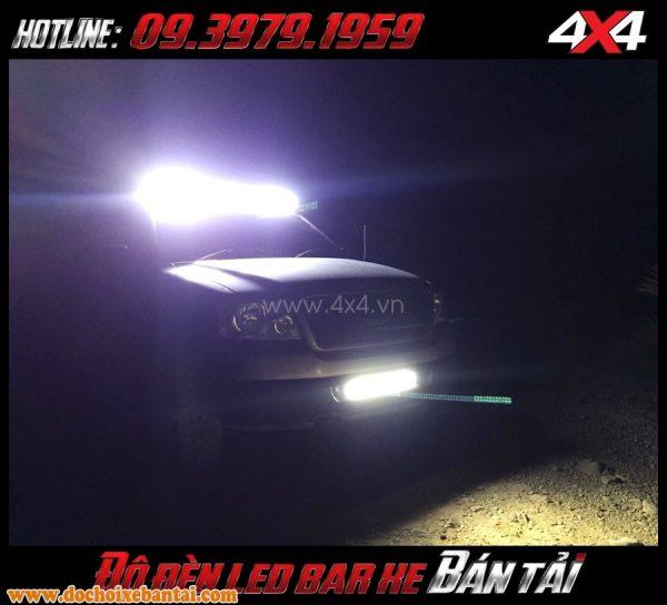 Hình ảnh đèn led độ: Bán đèn led bar đẳng cấp và chất lượng cho ô tô, xe bán tải ở HCM