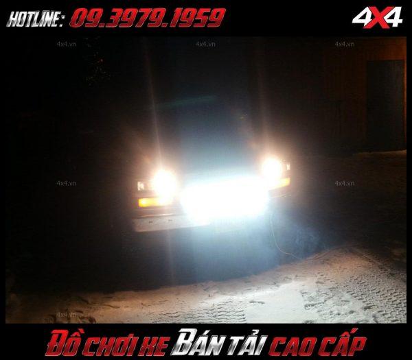 Led bar: Đèn led bar chất lượng cao gắn cho xe bốn bánh xe Ford Ranger ở HCM