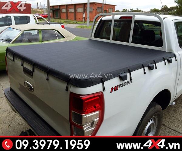 Nắp thùng mềm sang trọng và tiện nghi dành cho xe bán tải