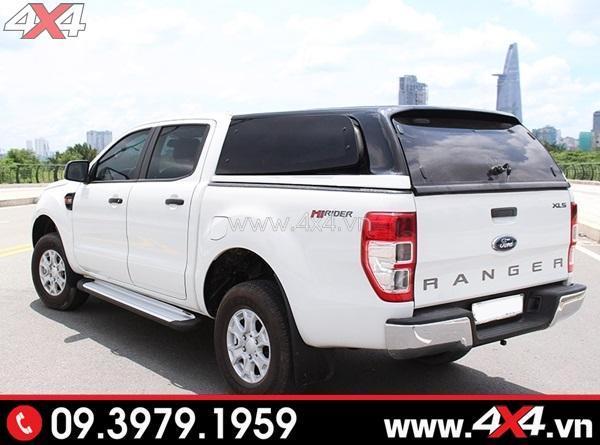Nắp thùng cao CarryBoy đẹp và sang trọng gắn xe bán tải Ford Ranger