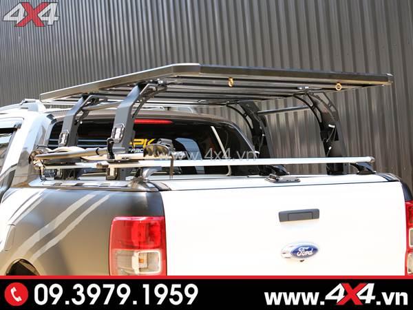 Baga thùng sau cứng cáp và đẹp độ xe Ford Ranger