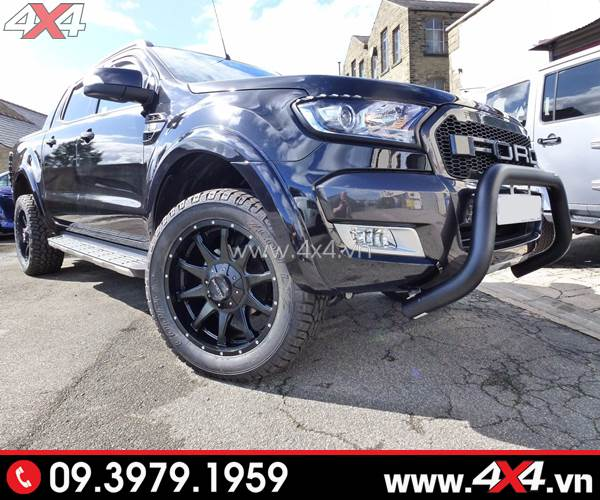 Bộ Body kit ngầu và chất độ xe Ford Ranger