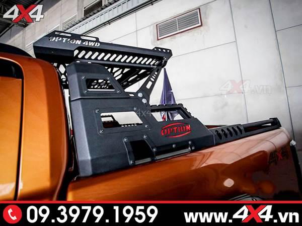 Thanh thể thao 4wd độ đẹp và hầm hố dành cho xe bán tải Ford Ranger