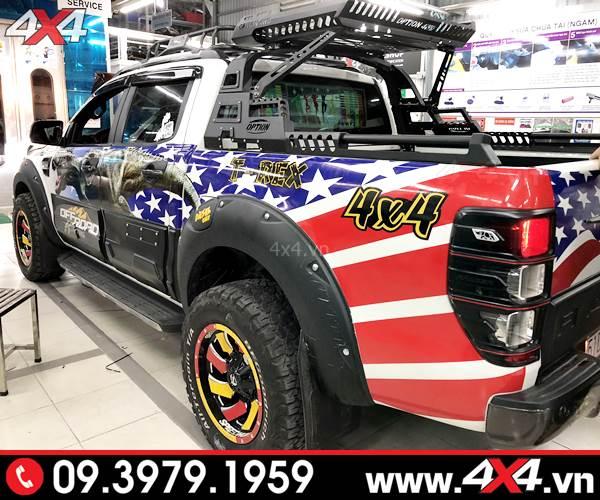 Thanh thể thao 4wd độ đẹp, cứng cáp và chất cho chiếc bán tải Ford Ranger