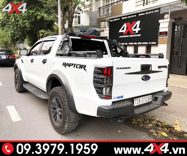 Mẫu thanh thể thao Cantech độ cứng cáp, ngầu và đẹp cho xe bán tải Ford Ranger