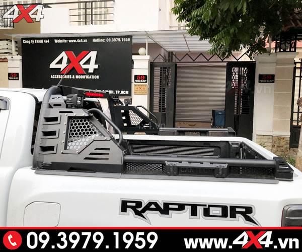 Chiếc bán tải Ford Ranger Raptor độ đẹp với mẫu thanh thể thao Cantech
