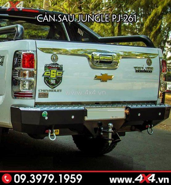 Cản sau Jungle PJ-261 độ đẹp và cứng cáp cho xe bán tải