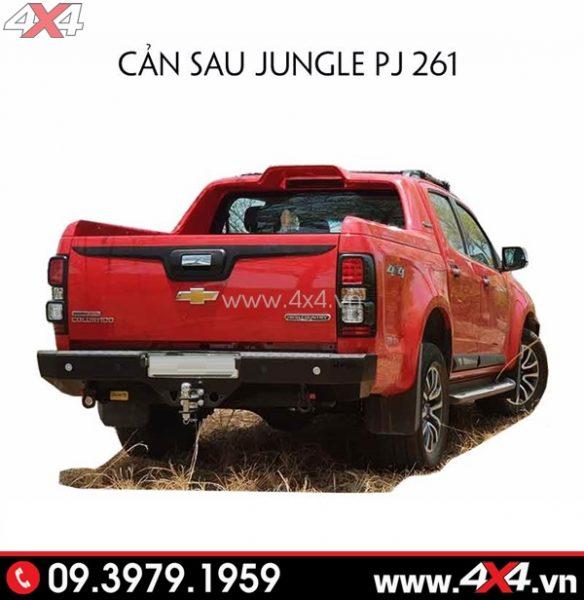 Chiếc Chevrolet Colorado gắn cản sau Jungle PJ-261 đẹp và cứng cáp