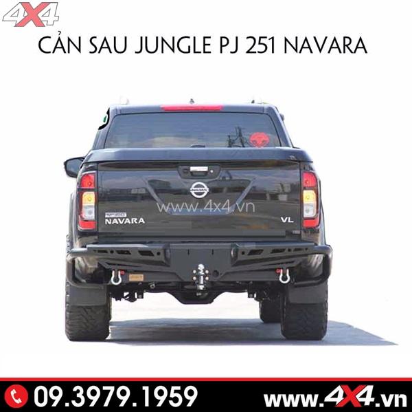 Cản sau jungle PJ 251 gắn đẹp và chất lượng cho xe bán tải Nissan Navara