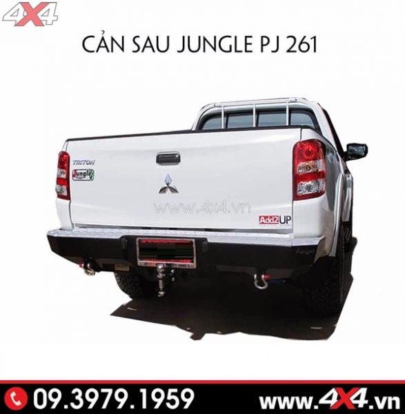 Cản sau Jungle PJ 261 độ đẹp và chất cho xe Mitsubishi