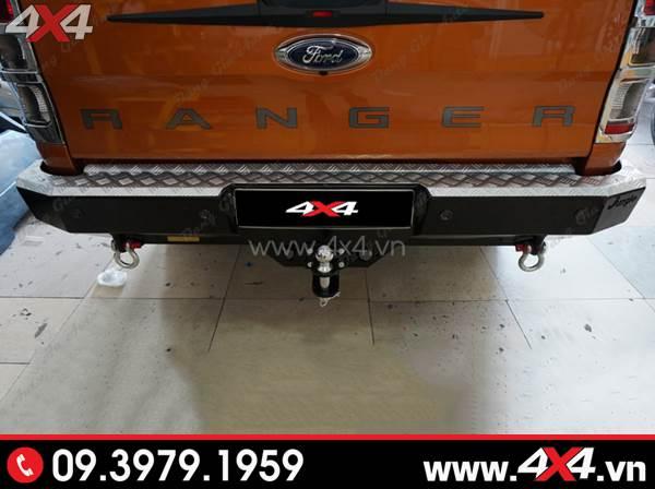Cản sau Jungle PJ 261 đẹp cứng cáp độ cho xe Ford Ranger