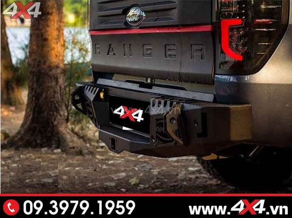 Cản sau option 4wd đẹp cứng cáp và mạnh mẽ độ xe Ford Ranger