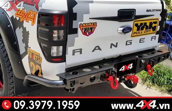 Cản sau YAK độ đẹp và nổi bật cho xe Ford Ranger