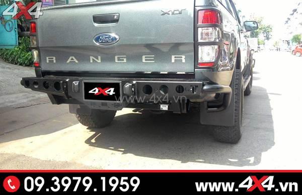 Cản sau YAL Thái Lan đẹp và chất dành độ cho xe Ford Ranger tại HCM