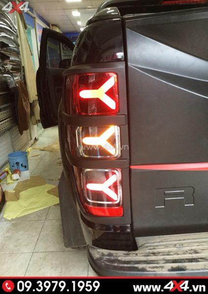 Ford Ranger độ đèn đuôi kiểu Lamborghini