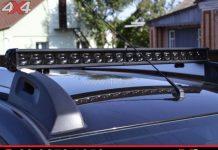 Đèn led bar 6D độ đẹp gắn nóc xe bán tải, xe ô tô