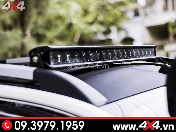 Đèn led bar 6D cực đẹp và chất gắn nóc xe bán tải