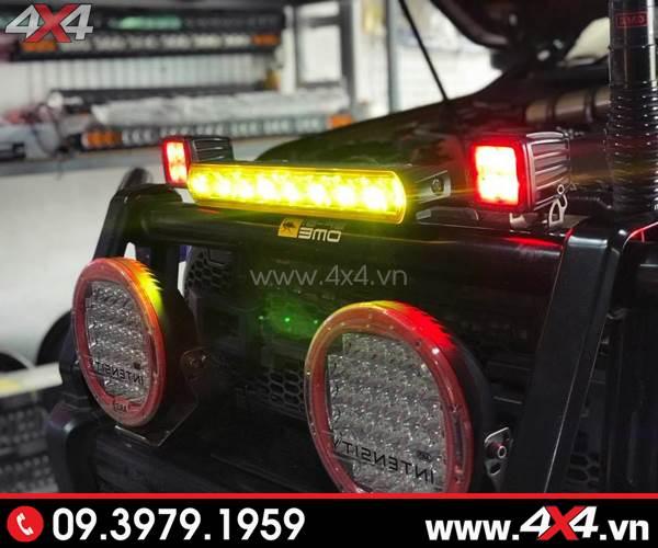 Đèn led bar vàng kenzo gắn xe bán tải