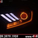 Đèn Ford Ranger độ kiểu Ford Mustang 2D