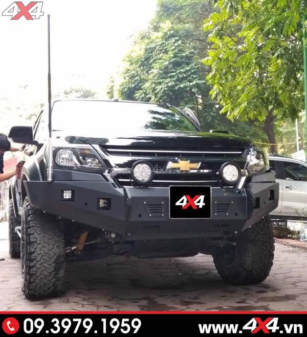 Cản trước option 4WD cứng cáp gắn xe Chevrolet Colorado