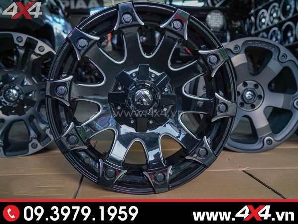 Mâm xe Ford Ranger - Mâm Fuel Battle Axe mạnh mẽ, ngầu và đẹp độ xe Ford Ranger