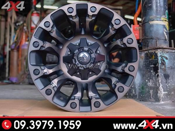 Mâm xe Ford Ranger - Mâm Fuel Vapor đẹp, cứng cáp dành độ cho xe bán tải