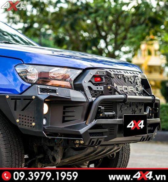 Cản trước Ford Ranger - Cản Open N Thái Lan độ hầm hố và đẹp cho xe Ford Ranger