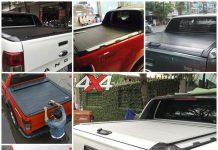 Nắp thùng cuộn độ đẹp, hầm hố và cứng cáp cho xe Ford Ranger