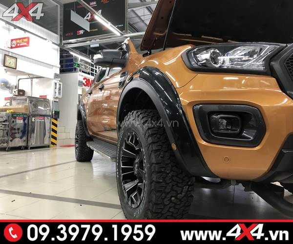 Lốp xe bán tải: Lốp BF goodrich AT gắn cứng cáp và chất cho Ford Ranger Biturbo