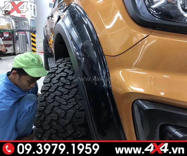 Lốp xe bán tải: Lốp BF Goodrich chất lượng được nhiều ngưởi tin dùng cho xe bán tải Ford Ranger