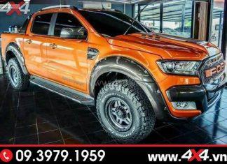 Lốp AT (All-Terrain) độ chất cho xe Ford Ranger