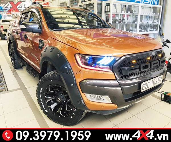 Mâm xe Ford Ranger độ: Mâm Fuel Assault độ đẹp và cứng cáp cho xe bán tải