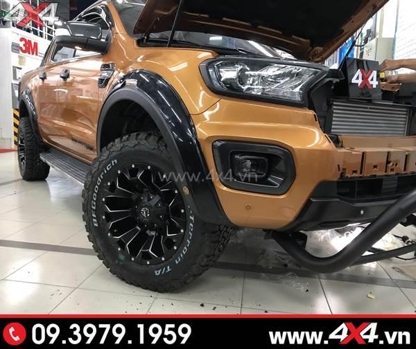 Độ mâm xe Ford Ranger - Chiếc Ford Ranger Biturbo 2018 độ mâm Fuel Assault đẹp và đẳng cấp tại 4x4