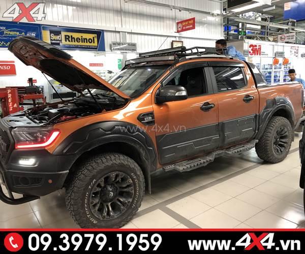 Mâm xe Ford Ranger: Mâm Fuel Vapor độ đẹp cho xe bán tải Ford Ranger tại 4x4