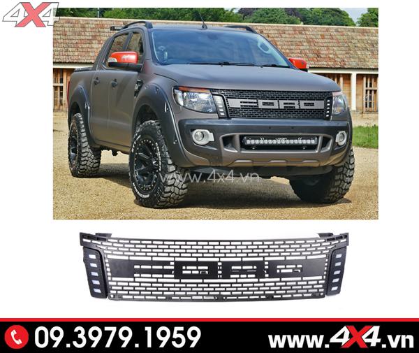 Mặt nạ chữ Ford độ sang và chất cho Ford Ranger