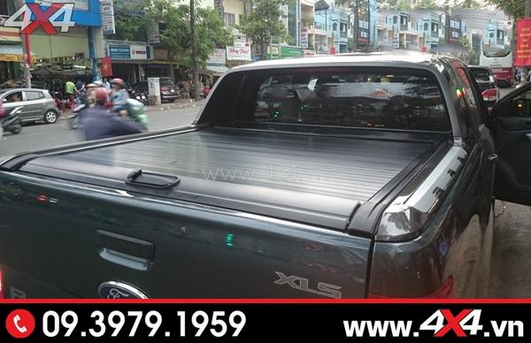 Nắp thùng KSC màu dèn gắn đẹp và ngầu cho xe Ford Ranger
