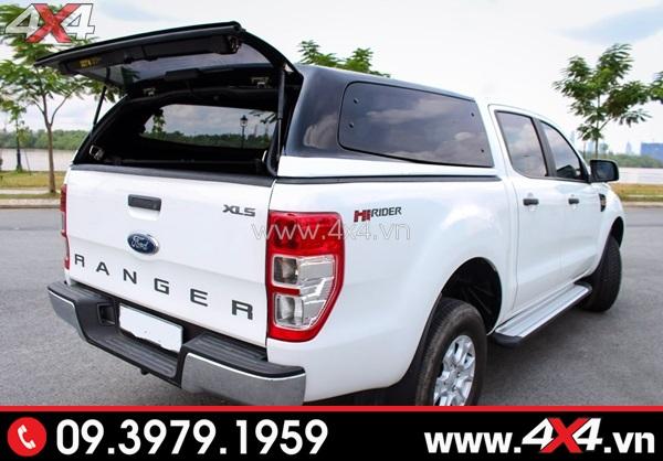 Hình ảnh đồ độ xe bán tải Ford Ranger: nắp thùng cao Ford Ranger