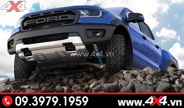 Xe Ford Ranger độ phuộc, nhíp giảm xóc